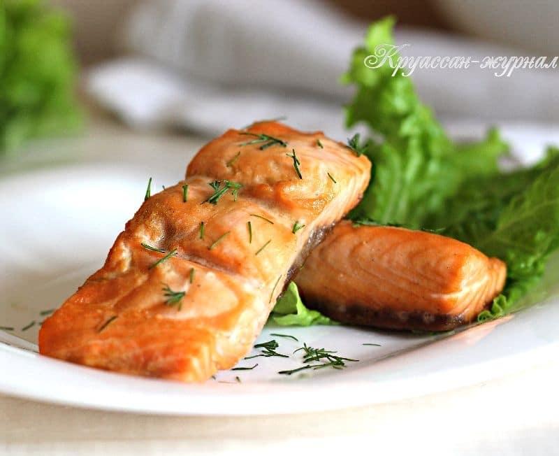 лосось в медовом соусе