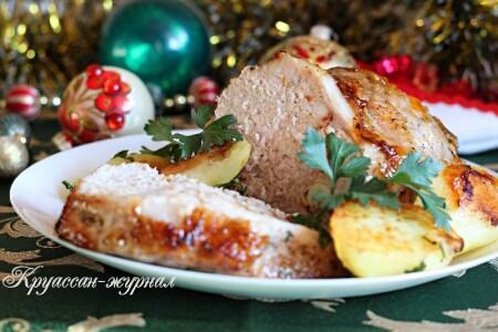 Свинина, запечённая с картофелем