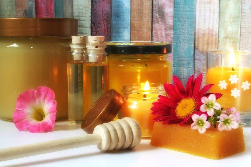 мед в косметике