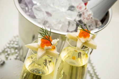 Что подают к шампанскому