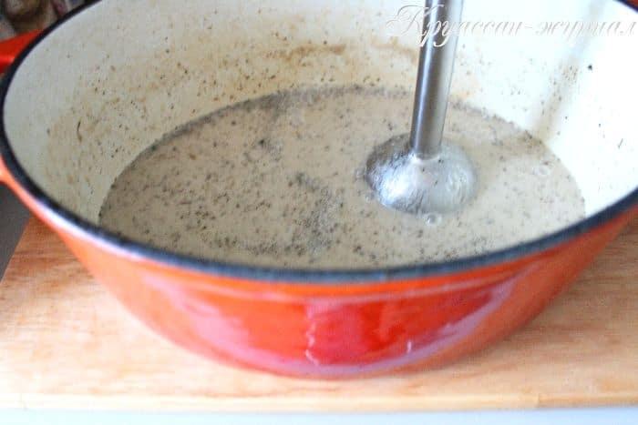 курица в чесночном соусе-приготовление