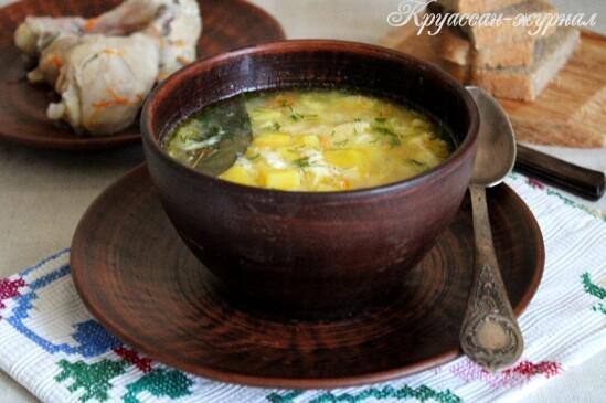 Суп «Затируха» — старинные рецепты русской кухни