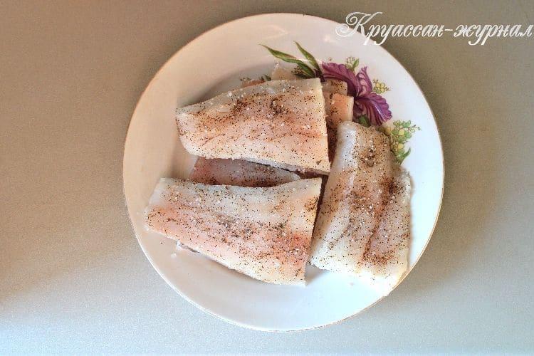рыба с ананасами, приготовление