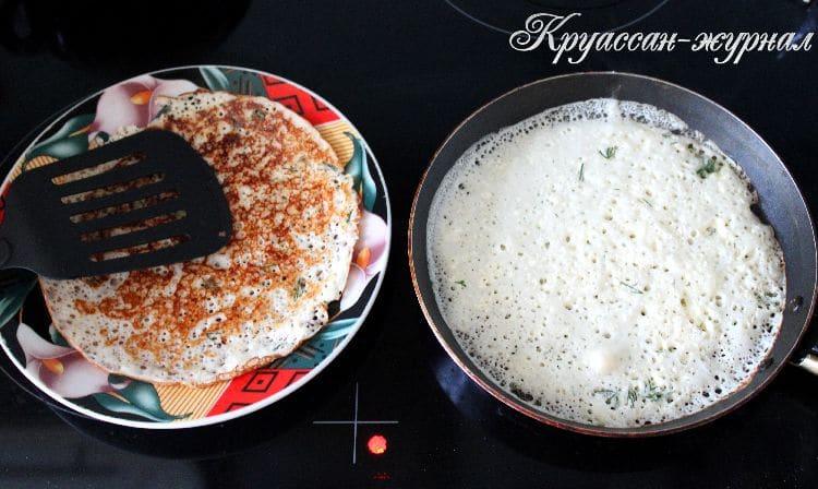 рисовые блины, приготовление