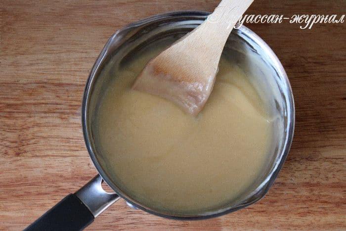 сладкие булочки из слоёного теста-приготовление