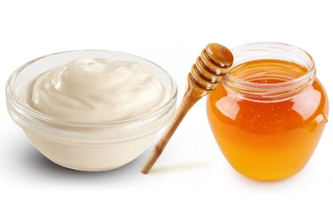 маски для лица из майонеза и мёда