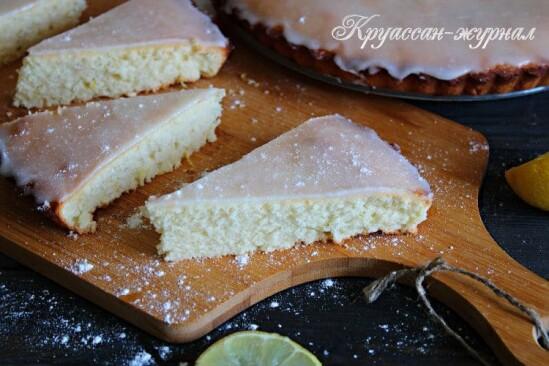 Простой и вкусный лимонный пирог