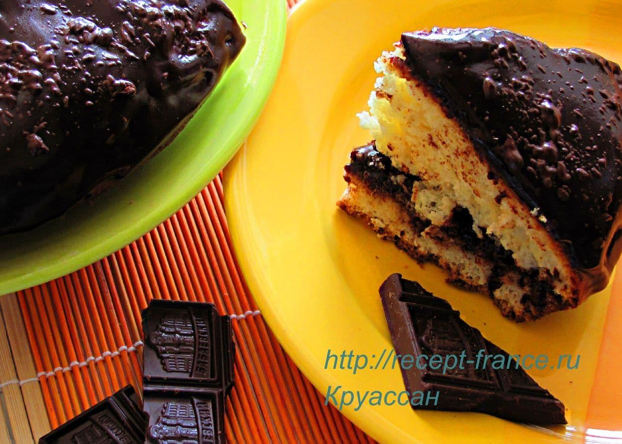 pirog s shokoladnoi glazuryu