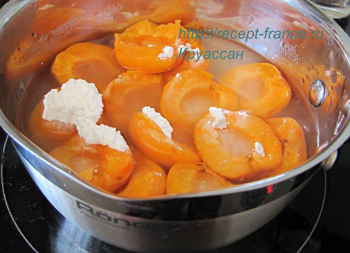 kak prigotovit abrikosovoe morojenoe