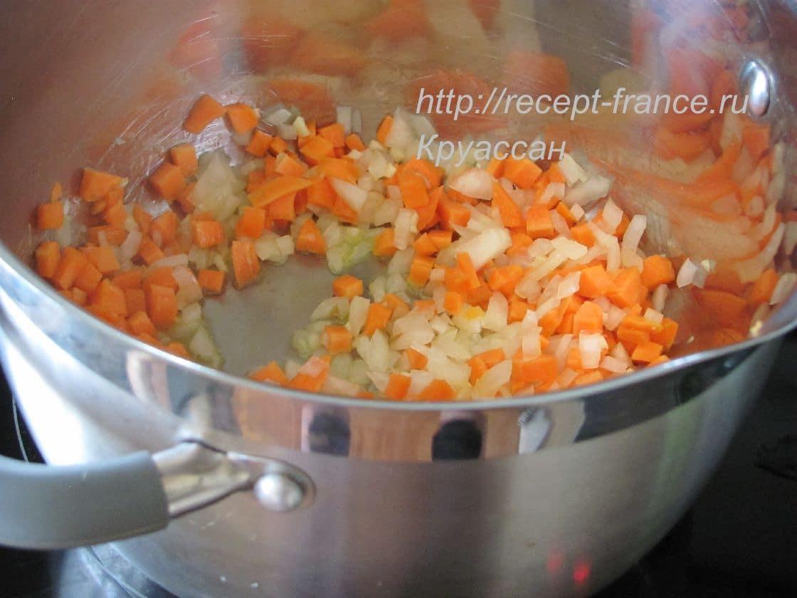 как приготовить овощной суп