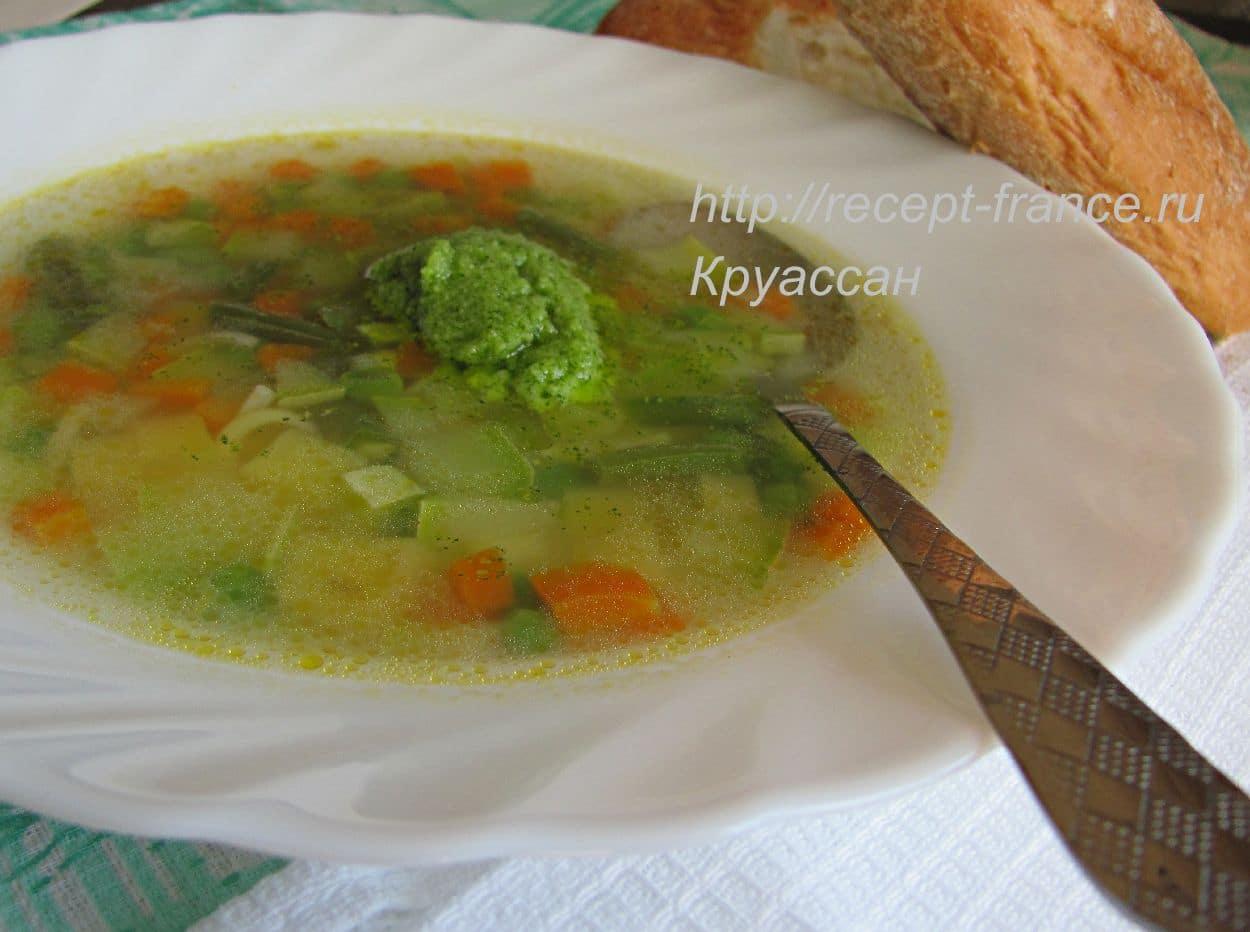 овощной суп с писту