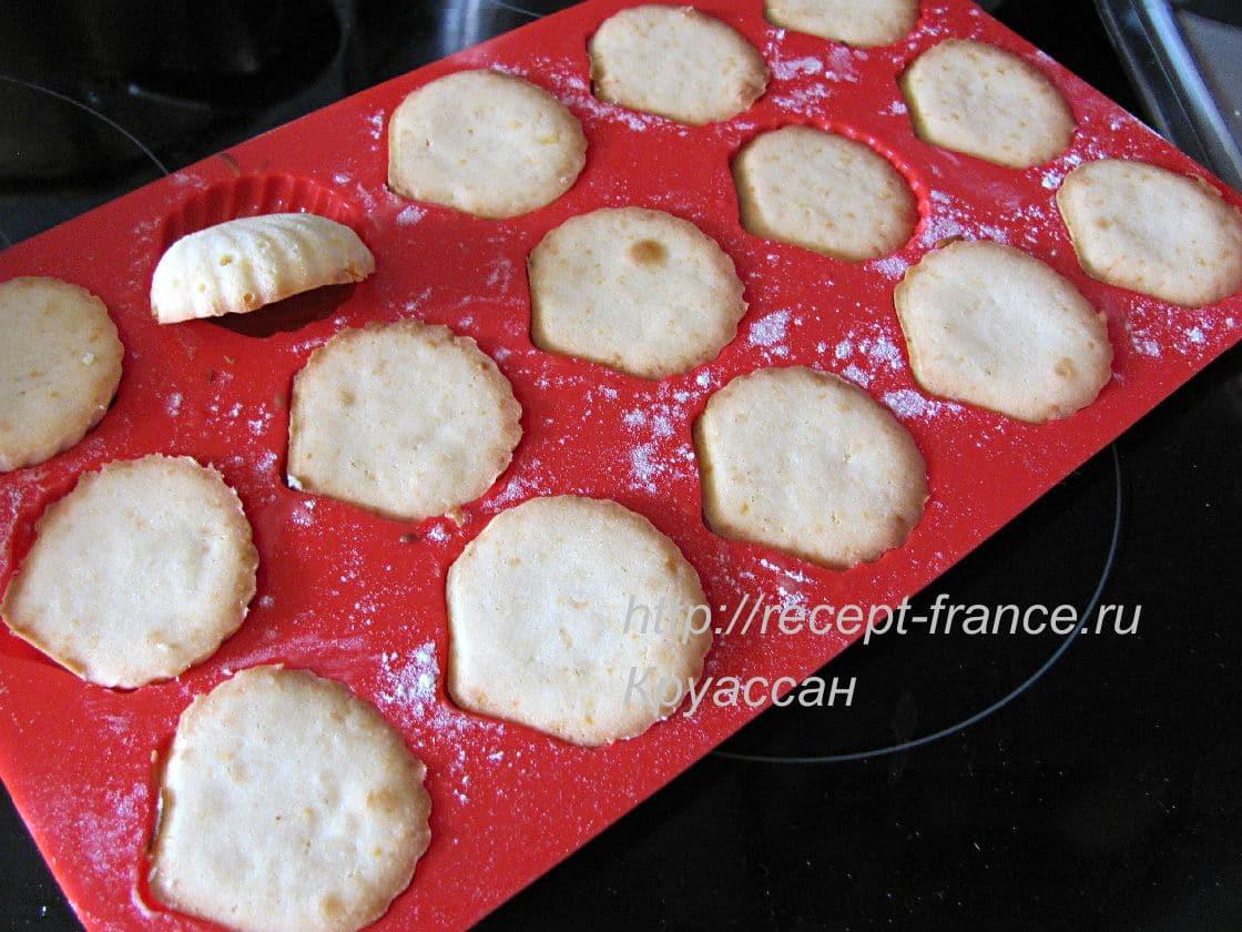 как приготовить печенье Мадлен