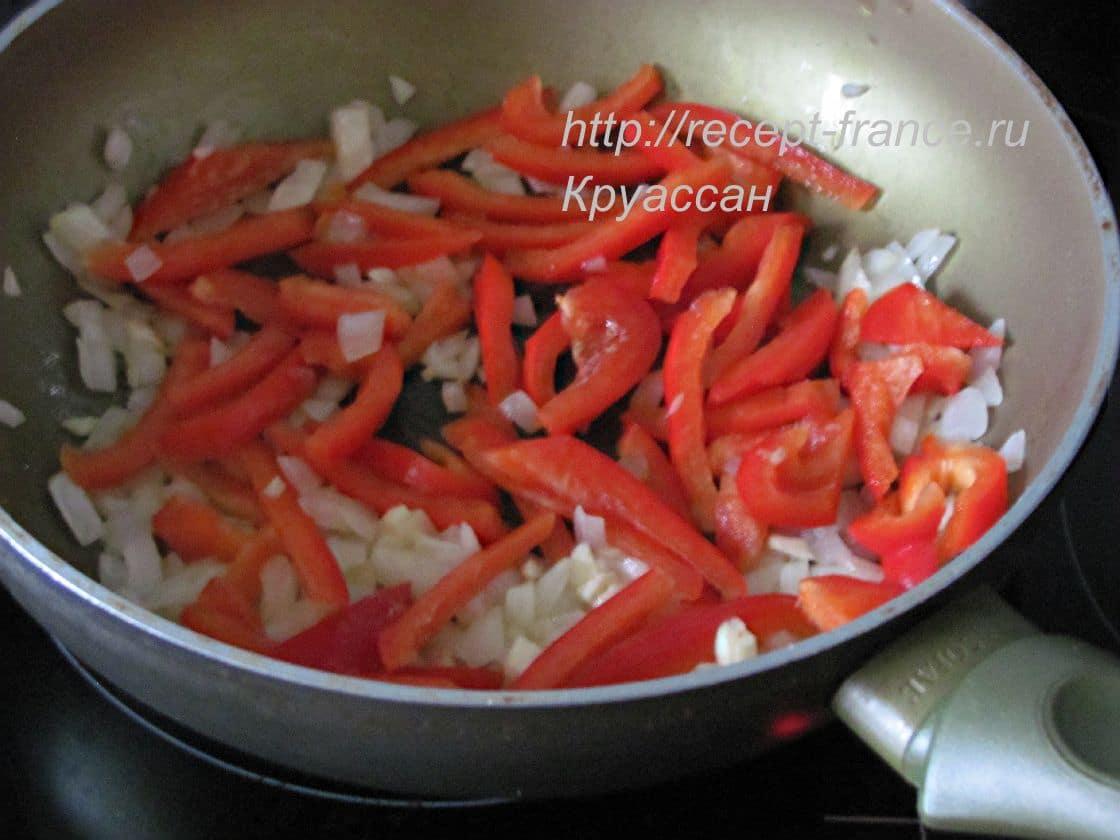 как приготовить пипераду