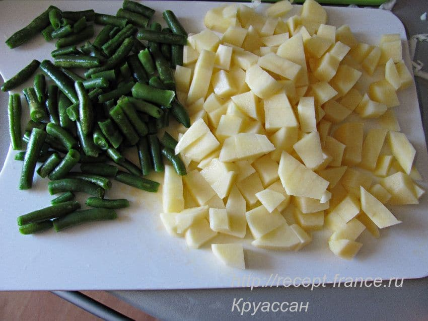 готовим молочный суп с овощами