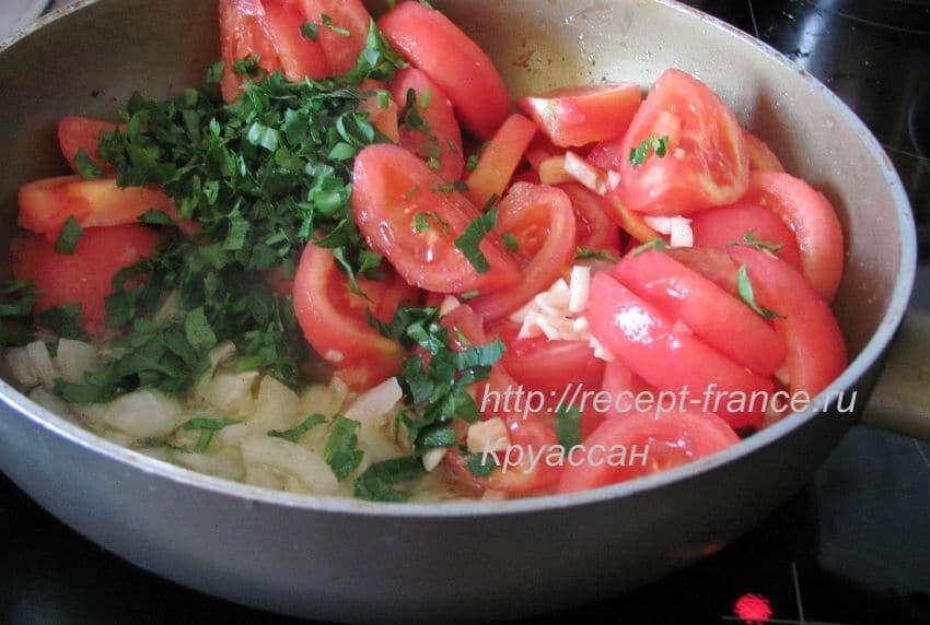 как приготовить овощной тьян