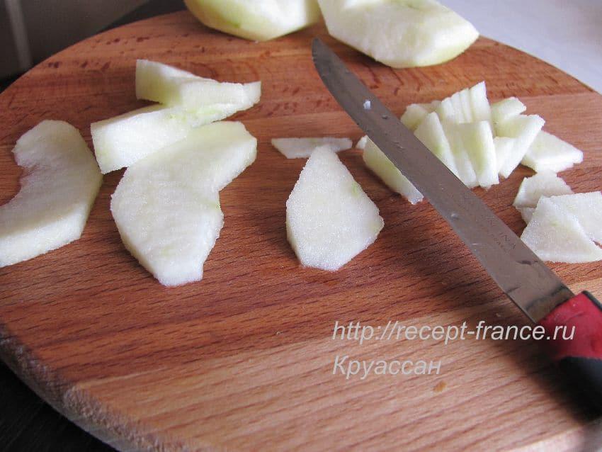 как приготовить оладьи с яблоками
