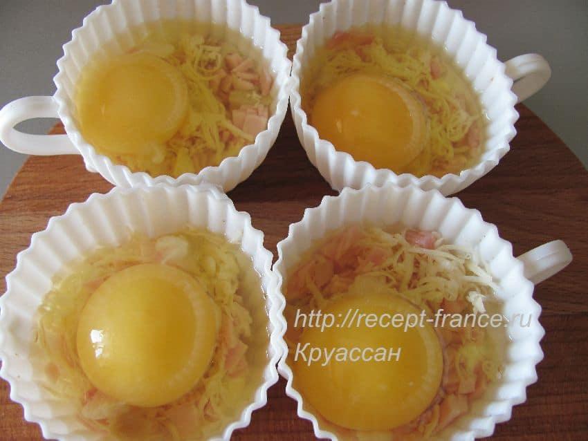 как приготовить яйца запеченные