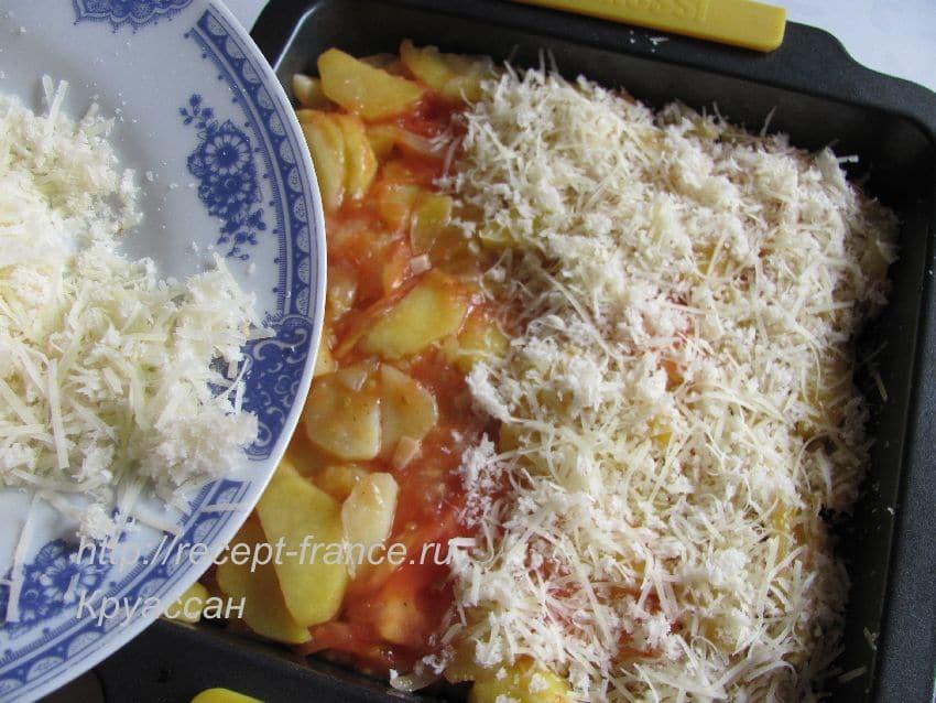 как приготовить гратен из картофеля