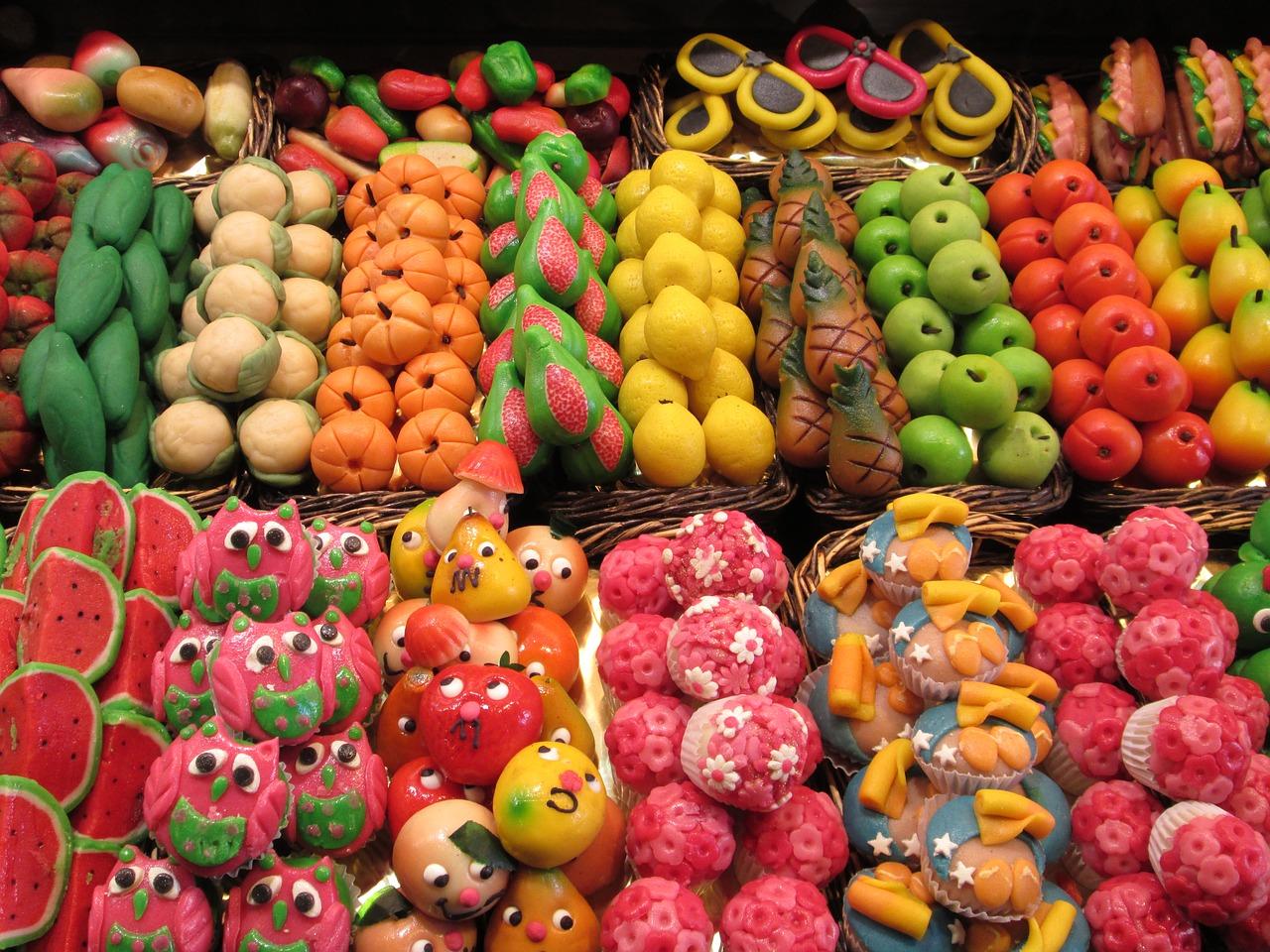 марципан, рынок