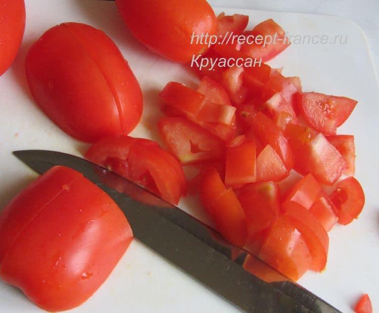 как приготовить салат из помидоров