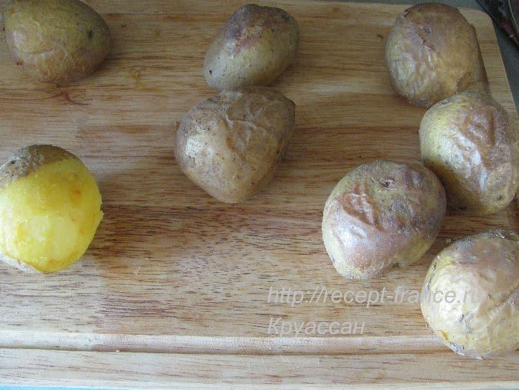 как приготовить картофель дюшес