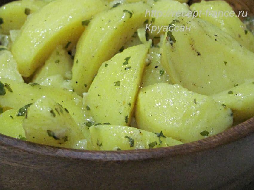 картофель провансаль - тушеный картофель в сливочном масле
